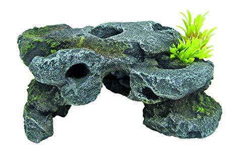 Декорация керамическая Японские скалы 1,  16,5x10,5x7,5cm