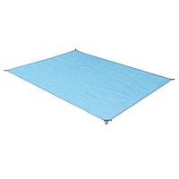 Пляжный коврик подстилка покрывало анти песок 2Life SAND MAT 150х200 см Blue (n-241)