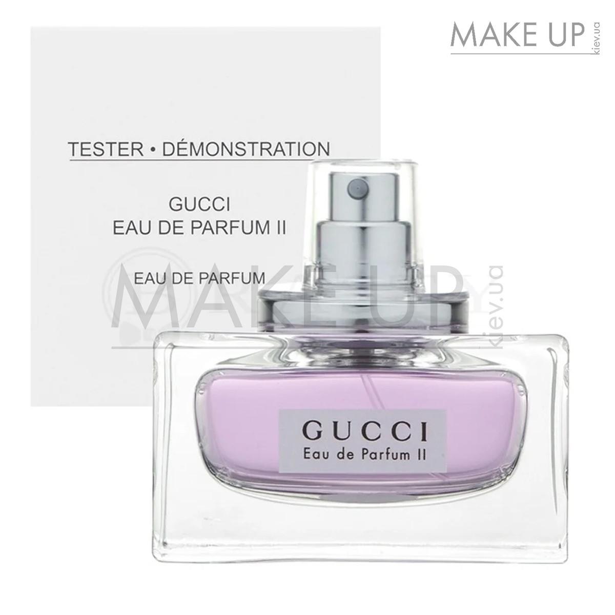 Tester женская парфюмированная вода Gucci Eau de Parfum 2 edp 75 мл. | Лиц.  ОАЭ Тестер