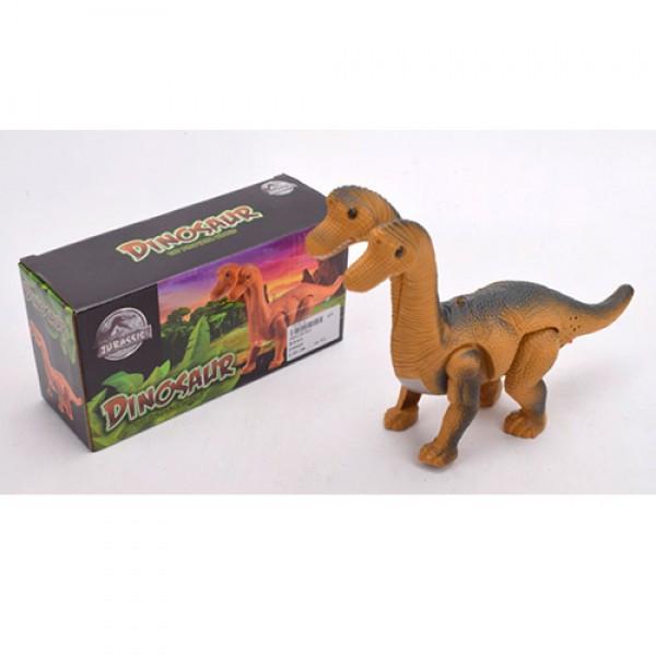 Динозавр арт  802 , ходит  29см, звук, свет, ходит, на бат-ке, в кор-ке, 21-11-7,5см