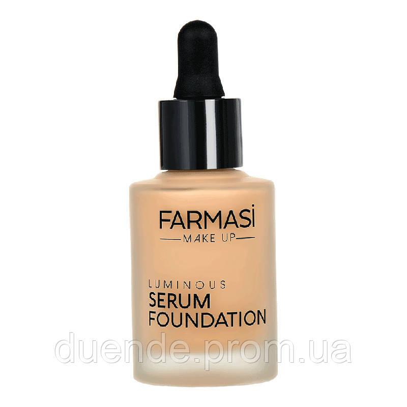 Тональная сыворотка Farmasi Luminous Serum пр-ва Турция 30 мл - 9,23 ББ / Far - 1302703