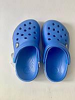 Кроксы детские Crocs Crocband 2.5 голубо-серые 24-25 разм. С 8/9, фото 1