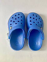 Кроксы детские Crocs Crocband 2.5 голубо-серые 26-27 разм. С 10/11, фото 1