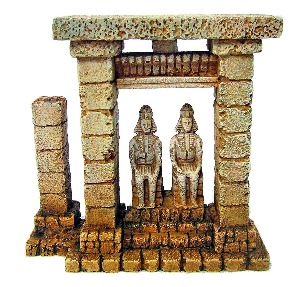 Декорация керамическая Египетские фараоны, 15x5,5x15см