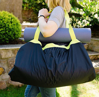 Сумка-коврик 2Life Lazy Bones Bag 2 в 1 150х150 см Black (n-240)