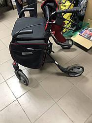 Ролеры ходунки, на колесах для людей с ограниченными возможностями с мягким сидением. Идеал
