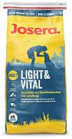 Josera (Йозера) Light Vital Диетический корм для снижения веса у собак 15 кг