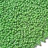 Бісер №58230, №10, Preciosa (Чехія), світло-зелений, перламутровий, непрозорий