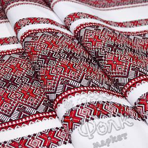 Ткань с народным орнаментом Волынська Cказка