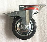 Колесо 75/25-50 с поворотным кронштейном и тормозом, фото 1