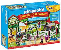 Конструктор Playmobil Advent Calendar - Horse Farm Ферма коней (9262) (B06W5NBFQZ)