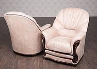 """Мягкое кресло в гостиную в классическом стиле на заказ, от производителя. Модель """"Кармен"""", классическая мебель"""
