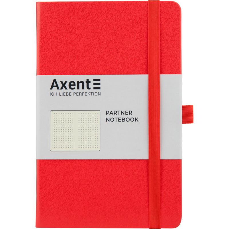 Книга записная 125х195 мм 96 листов точка твердая обложка Partner Axent, 8306-05-A, 43102