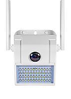 2MP Wifi IP камера видеонаблюдения 1080P уличная прожектор SD/TF 128 ГБ Full HD IP66, фото 1