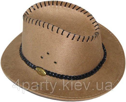 Шляпа Техас (бежевая) 170216-353