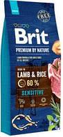 Brit Premium (Брит Преміум) by Nature Sensitive Корм для собак з ягням 15 кг