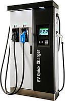 Станция для заряда электромобилей RAPTION 50 CCS 50кВт 50-500В 125А Combo2 розетка + 22кВт 400В 32А Type2