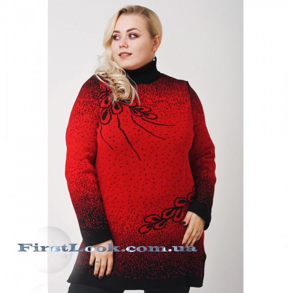 Женский свитер под горло