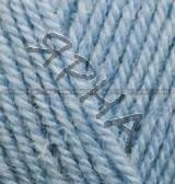 Пряжа для вязания Альпака роял ALIZE голубой 356