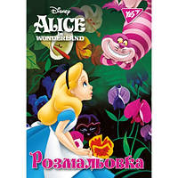 "Раскраска Алиса в Стране Чудес YES ""ALICE"" 12 стр 741185, 011946"