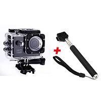 Экшн-камера 2Life А7 Sports Full HD 1080 Black + Монопод (n-3)