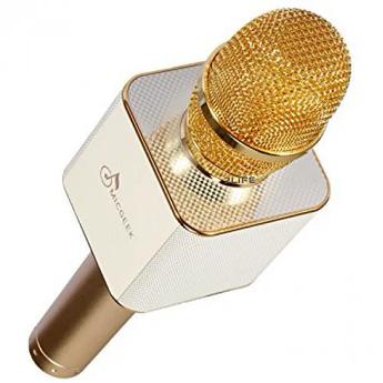 Беспроводной караоке микрофон 2Life Q7 Gold (n-232)