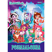 Книга Раскраска для девочек ENCHANTIMALS энчантималс 12 стр. 1 вересня, 011947