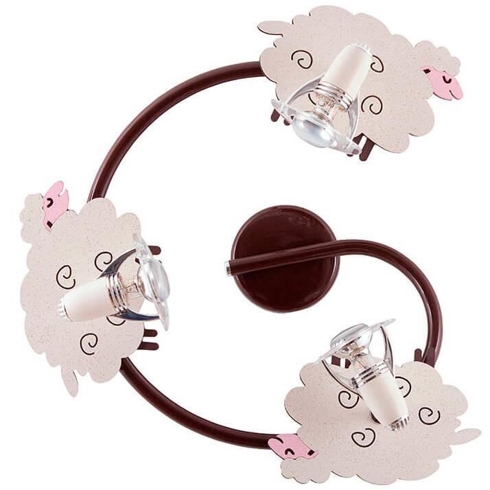 Настенный спот в детскую Nowodvorski 4107 SHEEP