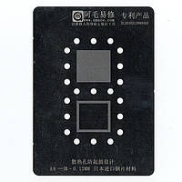 Amaoe BGA трафарет iPhone 6 - A8 CPU+RAM 0.12mm