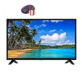 "LED Телевизор Comer 32"" Smart TV  WiFi  1Gb Ram 4Gb Rom Т2  USB/SD HDMI VGA Android"