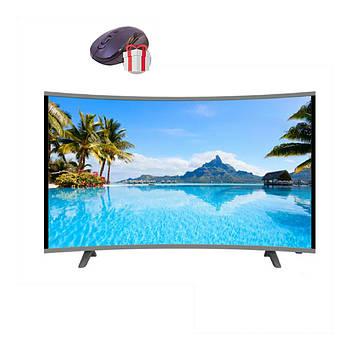 "Телевизор Comer 32"" Изогнутый Smart TV  WiFi + T2 LCD LED  HDMI  Android + ПОДАРОК!"