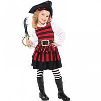 Костюм детский Маленька пиратка 4-6 р 1514-3012