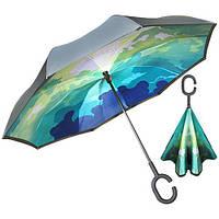 Зонт обратного сложения 110см 8сп MH-2713-12 (50шт)