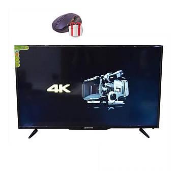 "Телевизор Samsung 56"" Android 9.0 (SMART TV 4K, DVB-T2 L56  Wi-Fi, USB)+ПОДАРОК!"