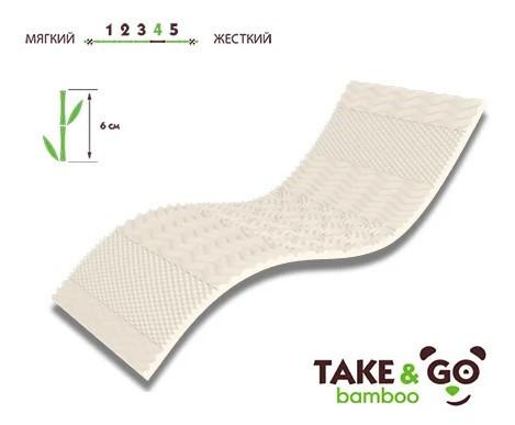Мини-матрас Take&Go Bamboo Top White
