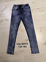 Джегинсы брюки  для девочек оптом, Seagull, 134-164 рр., фото 1