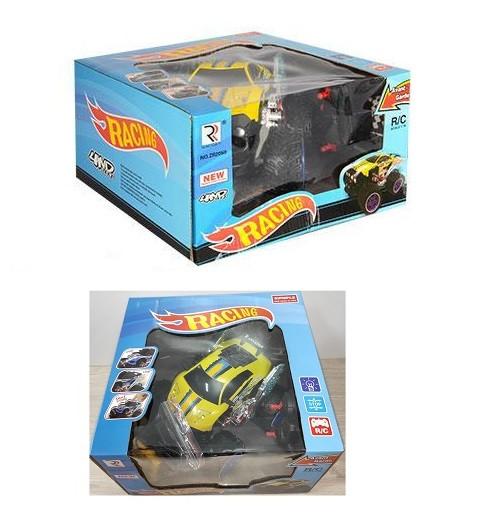 Машина на управлении арт 2050  желтый цвет.