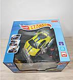 Машина на управлении арт 2050  желтый цвет., фото 2