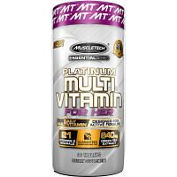 Женские витамины, MuscleTech Platinum Multivitamin for her, 90 таб.