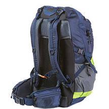 Рюкзак туристичний N. F. Electron 55L з накидкою різні, фото 2