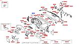 Панель приборов торпеда киа Рио 2, KIA Rio 2011-14 QBr, 847104y300wk, фото 7