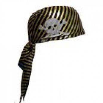 Полосатая бандана пирата