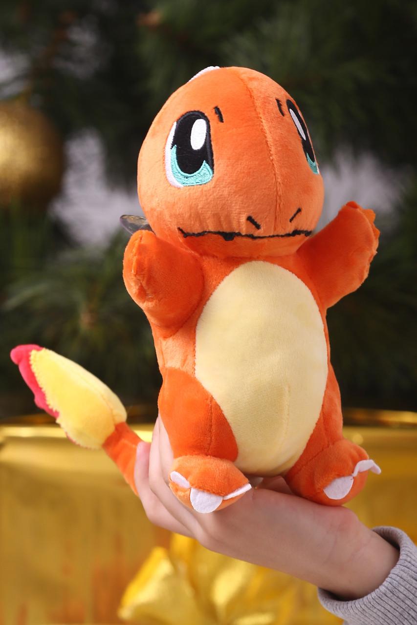 Игрушка Покемон Чармандер (Pokemon Charmander) мягкая игрушка 23 см