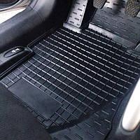 Гумові килимки в салон FIAT 500 Модельні, фото 1