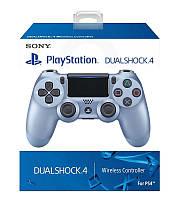 Геймпад беспроводной Dualshock 4 V2 Голубой Titanic Blue