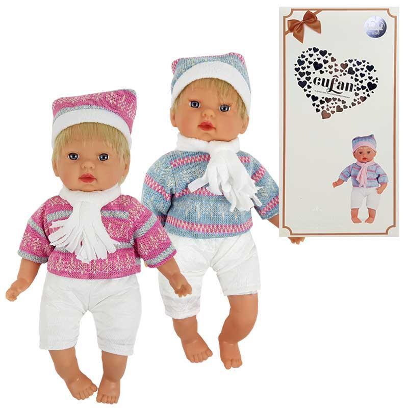 Кукла-пупс 00199-2 44 см, 2 вида, в коробке