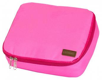 Органайзер для косметики розовый