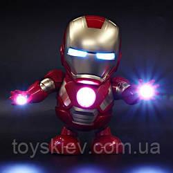 Интерактивная игрушка Woonken Dance Hero Танцующий Iron Man Танцующий музыкальный герой