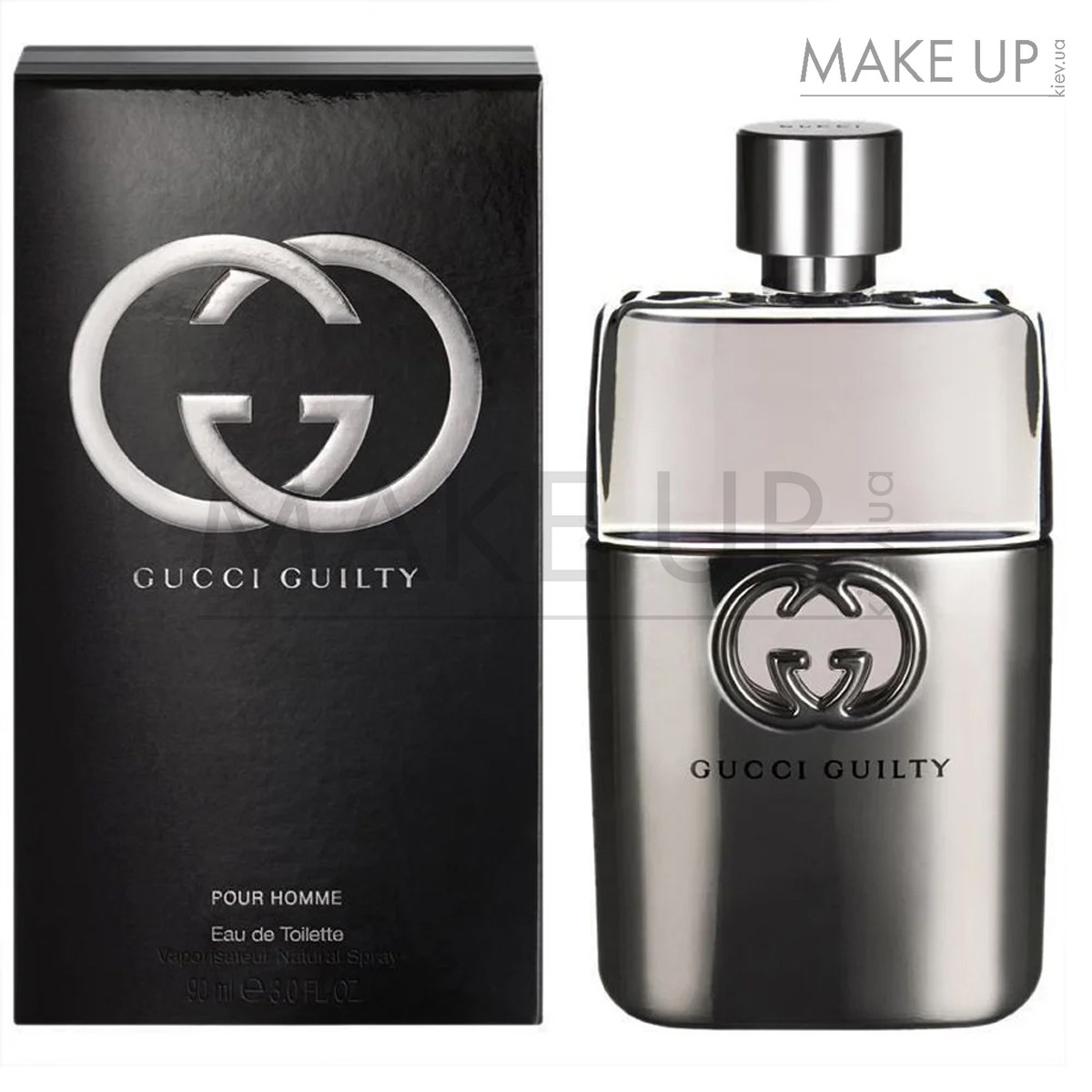 Мужская туалетная вода Gucci Guilty Pour Homme EDT 90 мл.   Лицензия Объединённые  Арабские Эмираты