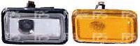 Указатель поворота левый=правый на крыле желтый Audi 80 -86 (DEPO)